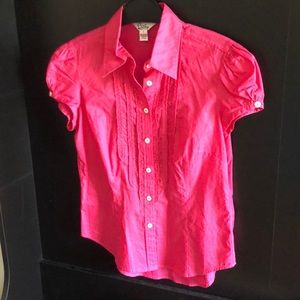 Size 4 Lilly Pulitzer top, pink